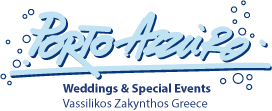Porto Azzuro Weddings & Special Events by the Ionian Seaside - Vasilikos Zakynthos